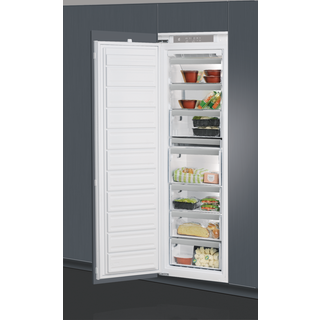 Whirlpool integrated upright freezer: white color - AFB 1843 A+