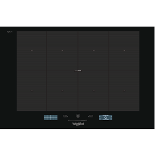 Whirlpool SMP 778C/NE/IXL 77cm SmartCook Induction Hob with SmartSense: 86 Step By Step Recipes SMP 778 C/NE/IXL