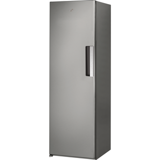Whirlpool freestanding upright freezer: inox color - UW8 F2C XLSB UK