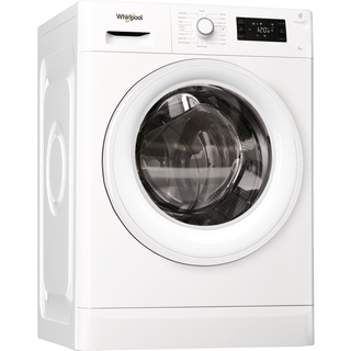 Whirlpool freestanding front loading washing machine: 8kg - FWG81284W UK