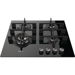 Whirlpool gas hob: 4 gas burners - GOW 6423/NB