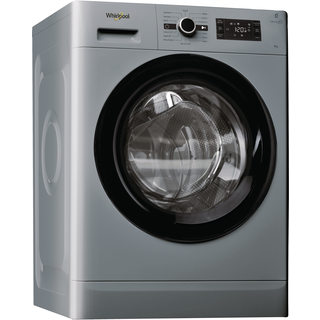 Whirlpool freestanding front loading washing machine: 8kg - FWG81496 S UK