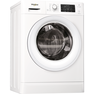 Whirlpool freestanding washer dryer: 10kg - FWDD1071681W UK