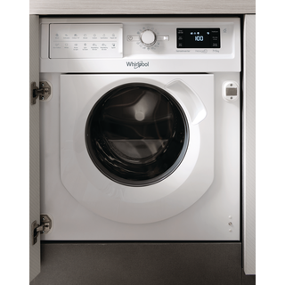 Whirlpool BI WDWG 7148 UK Integrated Washer Dryer in White