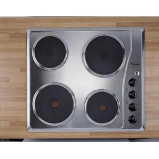 Edelstahl-Kochmulde mit obenliegenden Schaltern, 60 cm breit AKM331/IX