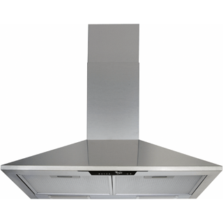 Whirlpool wall mounted cooker hood - AKR 672 IX