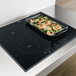 Whirlpool AKT 8700 IX Built-In Ceramic Hob in Black 5