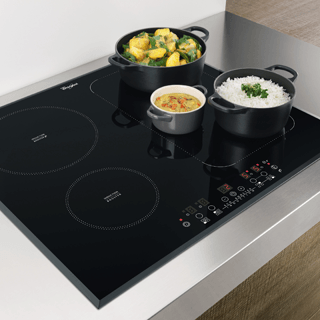 Whirlpool AKT 8700 IX Built-In Ceramic Hob in Black 6