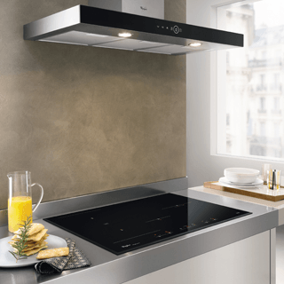 Whirlpool Absolute WHFG 63 F LE X Cooker Hood - Stainless Steel 2