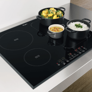 Whirlpool Fusion ACM868BAIXL Induction Hob - Black 2
