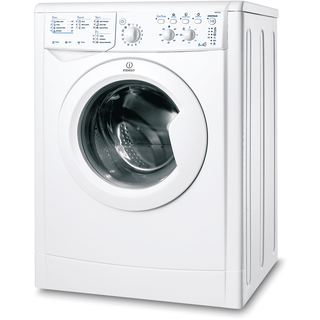 Indesit Ecotime IWDC 6105 Washer Dryer in White