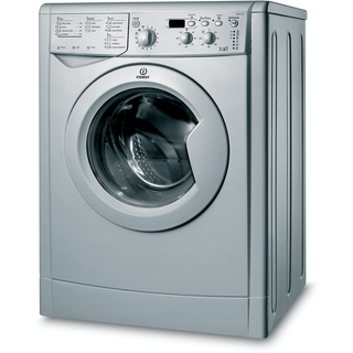Indesit Ecotime IWDD 7143 S Washer Dryer in Silver