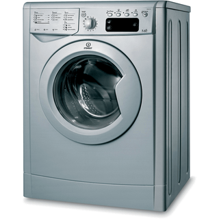 Indesit Ecotime IWDE 7125 S Washer Dryer in Silver