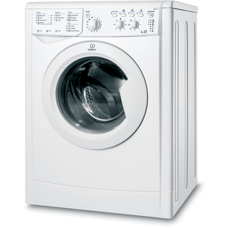 Indesit Ecotime IWDC 6143 Washer Dryer in White