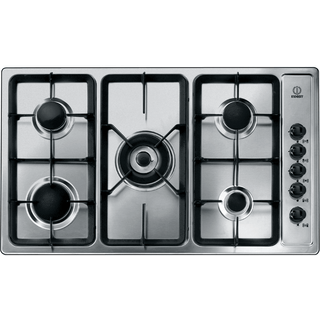 Indesit gas hob: 5 gas burners