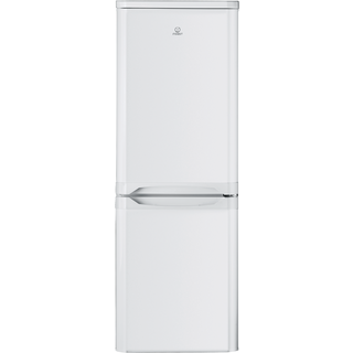 Indesit NCAA 55 (UK) Fridge Freezer in White