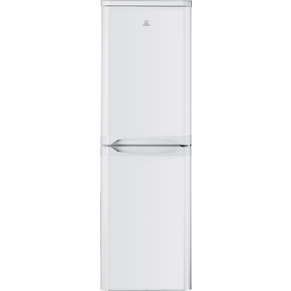 Indesit CAA 55 Fridge Freezer in White