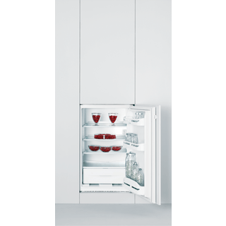 Integrated fridge: white colour