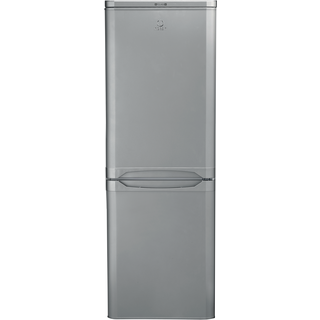 Indesit NCAA 55 S Fridge Freezer in Silver