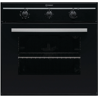 Built in electric oven: black colour