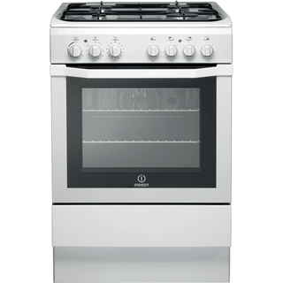 Gas freestanding cooker: 60cm