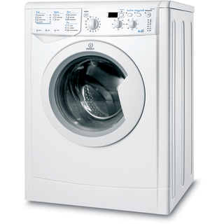 Indesit Ecotime IWDD 6105 B ECO Washer Dryer in White