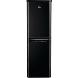 Indesit DAA 55 NF K UK Fridge Freezer in Black