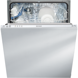 Indesit Ecotime DIF 04B1 Integrated Dishwasher in White