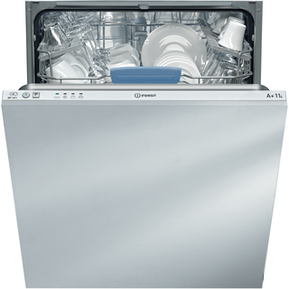 Indesit Ecotime DIF 14T1 Integrated Dishwasher in White