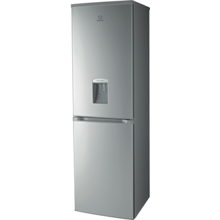 Indesit Frost Free Fridge Freezer in Silver
