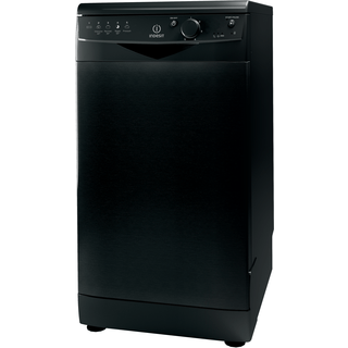 Dishwasher: slim, black colour
