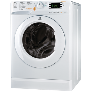 Indesit Innex XWDE 1071681X W Washer Dryer in White