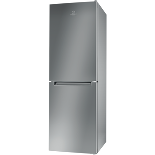Indesit LD70 N1 S Fridge Freezer in Silver