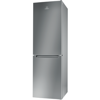 Indesit LD85 F1 S Fridge Freezer in Silver