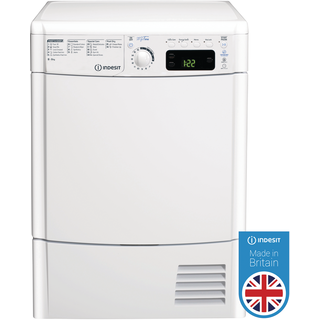 Indesit MyTime EDCE 85 B TM Tumble Dryer in White