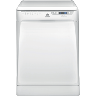 Dishwasher: full size, white colour