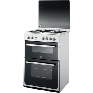 Indesit DD60G2CG(W)/ Cooker in White
