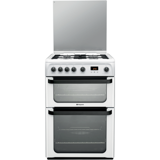 Hotpoint Gas Freestanding Double Cooker 60cm Jlg60p