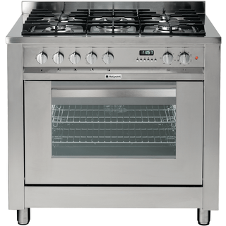 Hotpoint Electric Freestanding Cooker 90cm Eg900x S