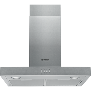 Indesit wall mounted cooker hood: 60cm