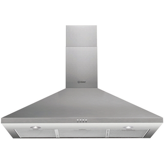 Wall mounted cooker hood: 90cm