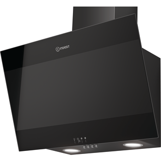 Indesit IHVP 6.6 LM K Cooker Hood in Black
