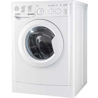 Indesit freestanding front loading washing machine: 8kg