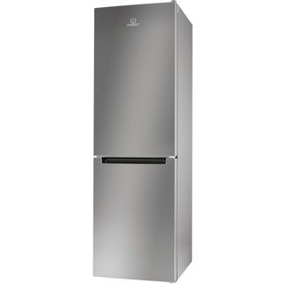 Indesit LR8 S1 S Fridge Freezer in Silver