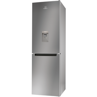 Indesit Freestanding Fridge Freezer in Silver