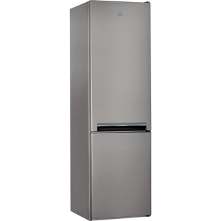Indesit LD70 S1 X Fridge Freezer in Stainless Steel