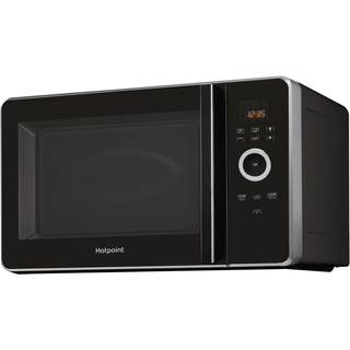 Hotpoint Freestanding Microwave Oven Black Color Mwh