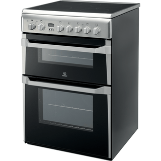Indesit ID60C2(X) S Cooker in Stainless Steel