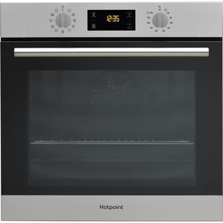 single double ovens gas electric in stainless steel hotpoint uk rh hotpoint co uk Hotpoint Instruction Manuals Hotpoint Stove Instruction Manual
