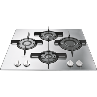 Piani cottura a induzione, a gas ed elettrici: neri e argento ...